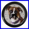 Wall Clock BOXER Dog Puppy Pet Animal Veterinarian Home (11776769)