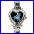 Heart Charm Watch SAGITTARIUS Zodiac Sign Women Girls (12173016)