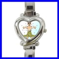 Heart Charm Watch ACUPUNCTURE Needle Doctor Nurse AMA (12173915)