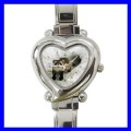 Heart Charm Watch FERRET Pet Animal Girls Women Ladies (12174063)
