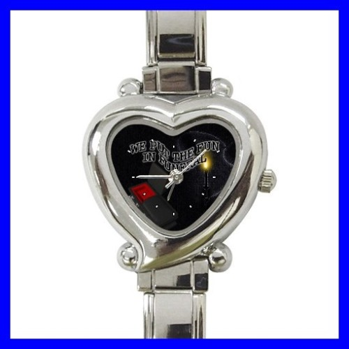 Heart Charm Watch FUNERAL Mortician Home Coffin Morgue (12174074)