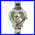 Heart Charm Watch GOLDEN RETRIEVER Animal Dog Puppy (12174524)