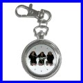 Key Chain Pocket Watch 3 MONKEYS See Hear Speak Animal (12155292)