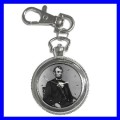 Key Chain Pocket Watch ABRAHAM LINCOLN President U.S. (12155666)