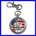 Key Chain Pocket Watch ABRAHAM LINCOLN U.S. President (12155667)