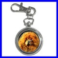 Key Chain Pocket Watch CHOW CHOW Animal Girls Pet Dog (12155760)