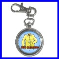 Key Chain Pocket Watch DRY CLEANER Laundry Shirt Women (12155789)
