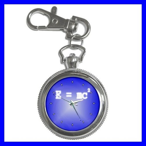Key Chain Pocket Watch E MC2 Albert Einstein Famous Men (12155790)