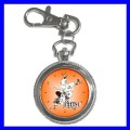 Key Chain Pocket Watch JUJITSU Martial Arts Judo Karate (12155857)