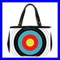 Oversize Office Handbag ARCHERY Target Olympic Game New (27153638)