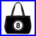 Oversize Office Handbag 8 BALL Pool Eight Game Billiard (27153653)