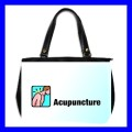Oversize Office Handbag ACUPUNCTURE AMA Needle Doctor (27153661)