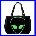 Oversize Office Handbag ALIEN ET Roswell Science Purse (27154475)