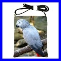 Shoulder Sling Bag Messenger AFRICAN GREY PARROT Birds (25613440)