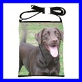 Shoulder Sling Bag CHOCOLATE LABRADOR RETRIEVER Dog Pet (25613527)