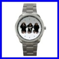 Sport Metal Watch 3 MONKEYS See Hear Speak Animal Girls (12463705)
