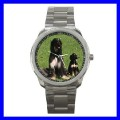 Sport Metal Watch AFGHAN HOUND Dog Puppy Animal Pet Boy (12464083)