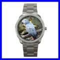 Sport Metal Watch AFRICAN GREY PARROT Bird Pet Animal (12464085)