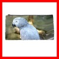 Pencil Case Pen Bag AFRICAN GREY PARROT Bird Pet Animal (22100577)