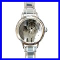 Round Charm Watch TIMBER WOLF Wild Animal Jungle Girls (11812026)