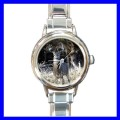Round Charm Watch WHITE TAILED DEER Wild Animal Jungle (11812047)