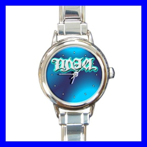 Round Charm Watch AMBIGRAM ANGEL DEVIL Novel Gifts Art (18055979)