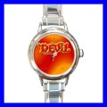Round Charm Watch AMBIGRAM ANGEL DEVIL Art Novel Gifts (18055980)