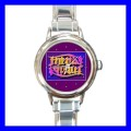 Round Charm Watch AMBIGRAM FRIENDS FOREVER Gift Art Fun (18055981)