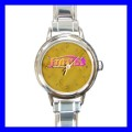 Round Charm Watch AMBIGRAM FRIENDS FOREVER Fun Gift Art (18055982)