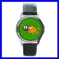 Round Metal Watch 8 BALL Billards Woman Pool Eight Game (11542186)