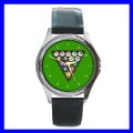 Round Metal Watch 8 BALL Game Billards Woman Pool Eight (11542187)