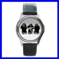 Round Metal Watch 3 MONKEYS See Hear Speak Animal Girls (11542268)