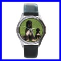 Round Metal Watch AFGHAN HOUND Dog Puppy Animal Pet Boy (11776347)