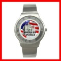 Round Steel Watch ABRAHAM LINCOLN Statue President US (15034112)