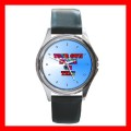 Personalization of Round Metal Watch Customized Gift (roundmetalwatch)
