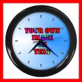 Personalization of Wall Clock Customized Gift (wallclock)