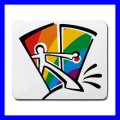 Mousepad Mouse Mat Pad GAY COMING OUT Rainbow Pride Flag Lesbian (11935746)