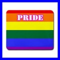 Mousepad Mouse Mat Pad GAY COMING OUT Rainbow Pride Flag Lesbian (11935747)