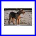 Business Card Holder Name Case Box AIREDALE TERRIER Pet Dog Puppy (15351881)