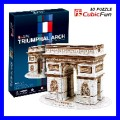 3D Puzzle ARC DE TRIOMPHE PARIS Architecture Building (TP045)