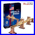 3D Puzzle BROOKLYN BRIDGE New York Manhattan Architecture (TP107)