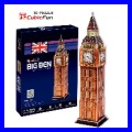 3D Puzzle BIG BEN Clock Tower London Architecture Building Art (TP703)