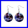 Button Dangle Earrings ANESTHESIOLOGY anesthesia anesthesiologist (12140948)