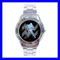 Stainless Steel Watch AQUARIUS Zodiac Sign Astrology Space Gift (31147319)