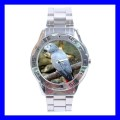 Stainless Steel Watch AFRICAN GREY PARROT Bird Pet Animal Zoo (31148683)