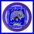 Color Wall Clock ARIES Zodiac Sign Astrology Space Decor Gift (27200999)