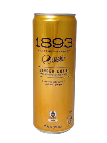 Pepsi 1893 ginger cola