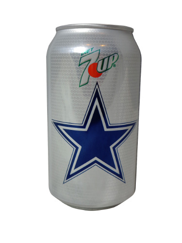 Dallas Cowboys diet 7 Up