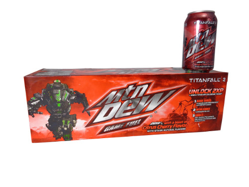 12 Pk Mtn. Gamefuel Titan Fall 2 Cherry