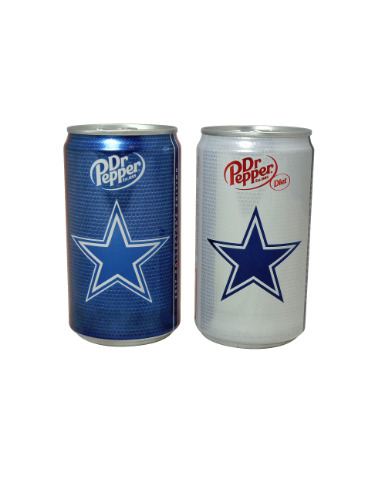 2017 Dr Pepper 8oz dallas cowboys cans
